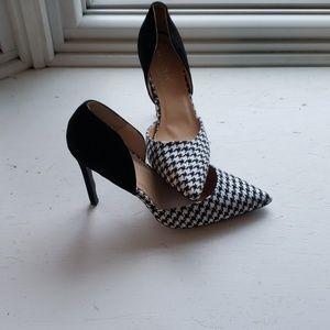 Euc Liliana Houndstooth heels womens size 12
